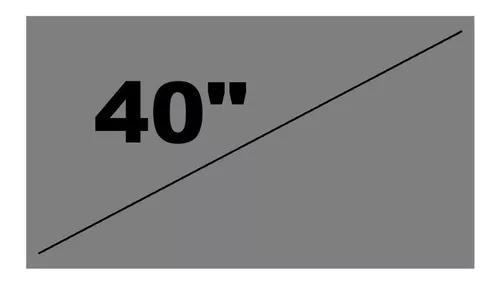 Película tv lcd polarizada 0° grau 40 polegadas -