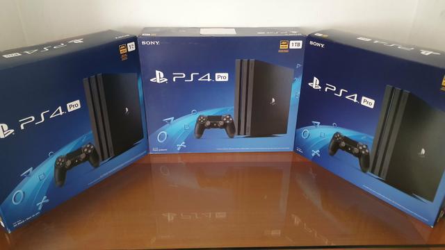 Playstation 4 pro novo lacrado com garantia - aceitamos seu