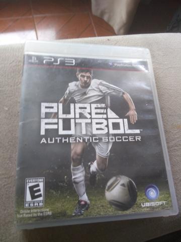 Pure futebol ps3 jogo original vendo/troco