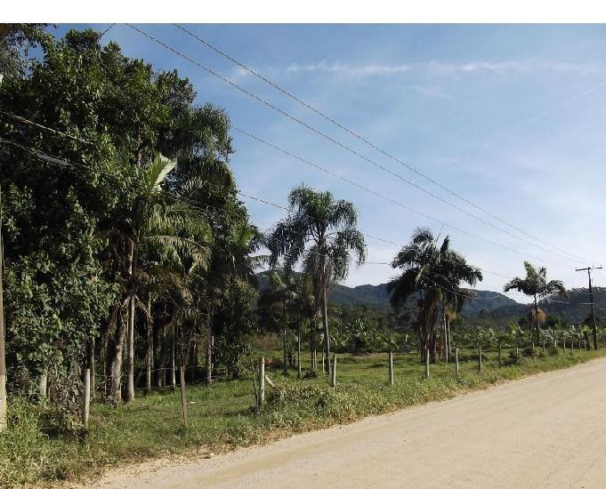 Terreno rural á venda em canelinha sc