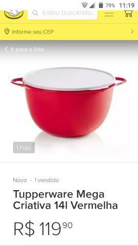 Tupperware criativa 14 litros