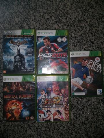 Vendo jogos originais x box 360