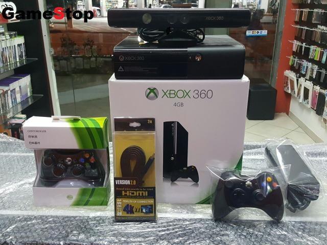 Xbox 360 completo com kinect e hd500gb com 8000 jogos