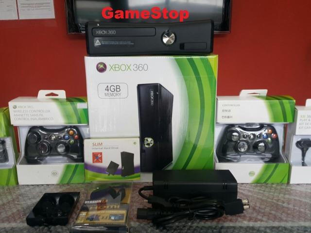 Xbox 360 destravado na caixa/hd500gb com 8000 jogos garantia