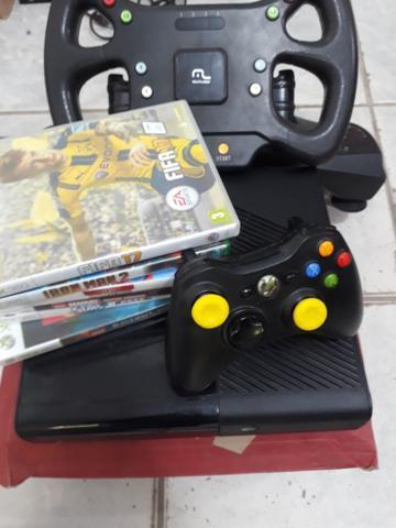 Xbox destravado com volante