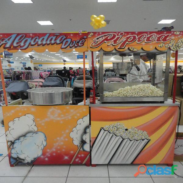 Pipoca e Algodão doce em Ribeirão Preto. Tel.: (16) 3019 0280