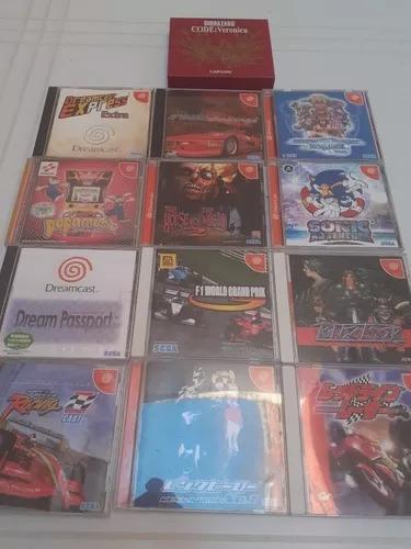 13 jogos originais dreamcast frete gratis 12x s