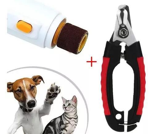 Alicate cortador de unhas pet cães gatos 16cm +lixa unha