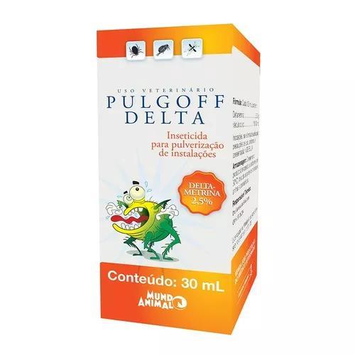 Antipulgas e anticarrapatos mundo animal pulgoff delta 30ml