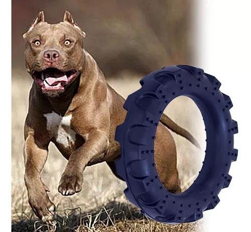 Brinquedo para pitbul pneu maciço para cachorros grande