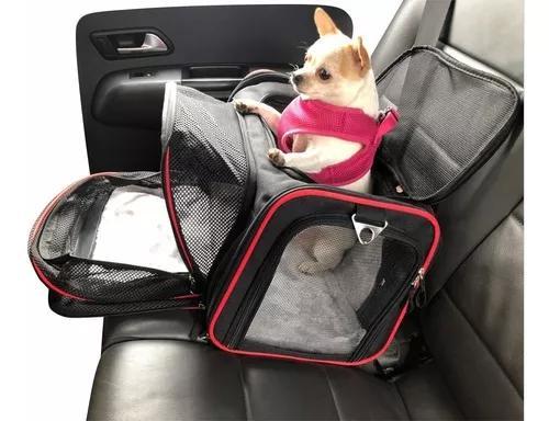 Cadeirinha bolsa pet transporte banco carro car seat grande