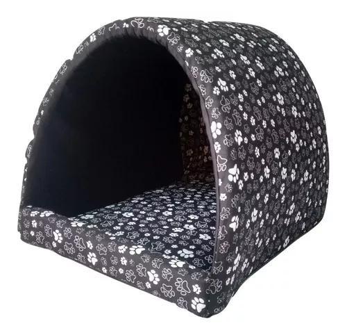 Caminha cachorro iglu casinha toca cama cães gatos - tam: g