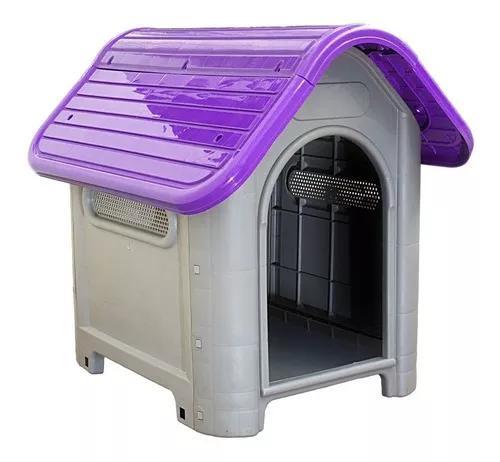 Casa cachorro cães casinha p/ pet plástico nº3 varias