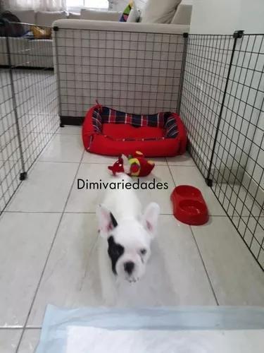Cercado p/cachorro,pequeno porte desmontável 6.6/10 trava