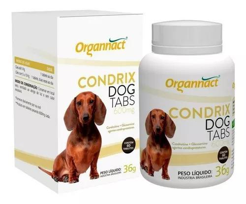 Condrix dog tabs caes 600mg (pequeno e médio porte) 60 comp