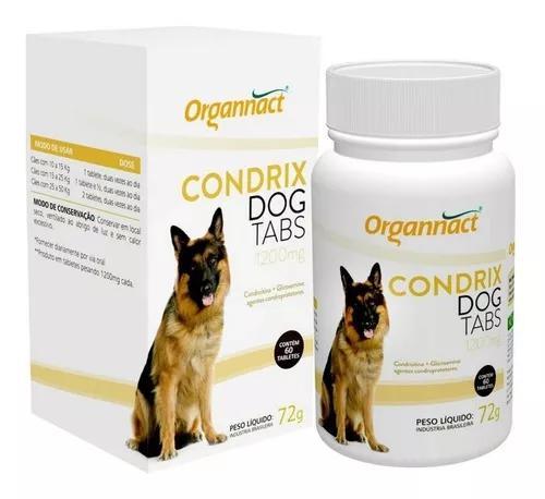 Condrix dog tabs cães 1200mg (grande e médio porte) 60