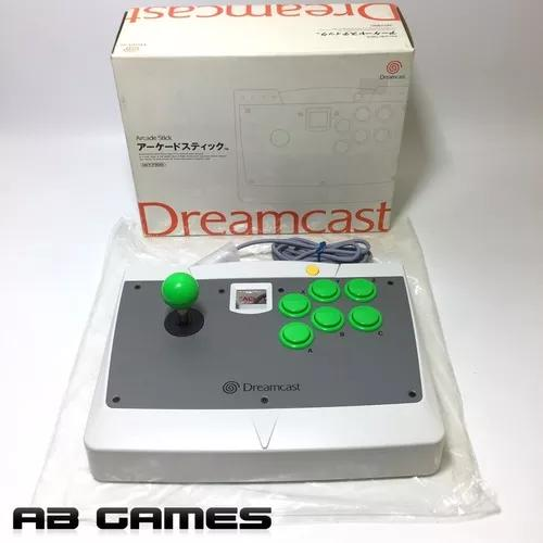 Dreamcast Arcade Stick Hkt-7300 Novo Na Caixa