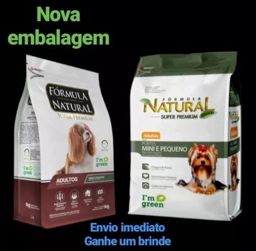 Fórmula natural cães adultos portes mini e peq. 7kg