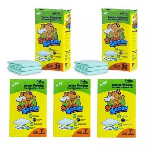 Kit promocional total 81 tapete higiênico super secao 80x60