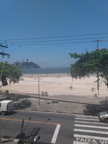 Kitnete- mobiliado- vista praia- gonzaguinha- são vicente