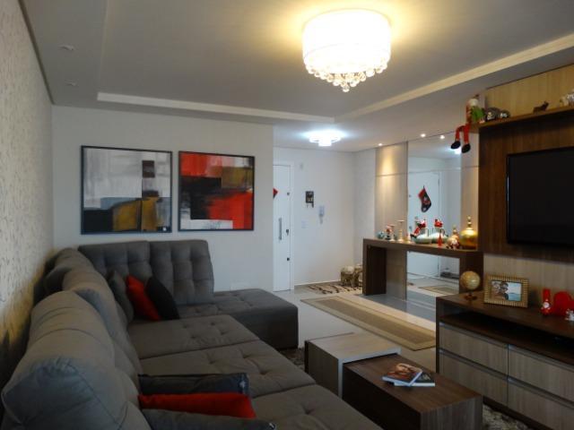 Linda cobertura mobiliada 212 m² privativo, garagem