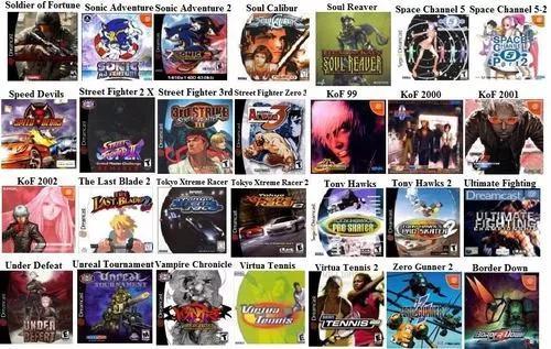 Lote 2 jogos sega dreamcast cdr á escolha
