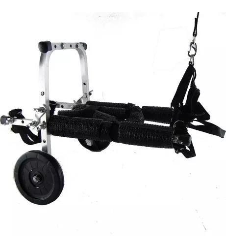 Mini cadeira de rodas cão cachorro gato pequeno port até