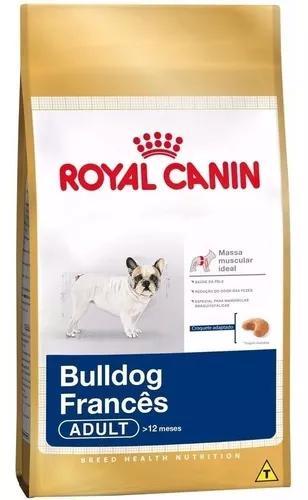 Ração royal canin cães adultos bulldog francês 7,5 kg