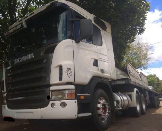 Scania 124R G380 Carreta Guerra