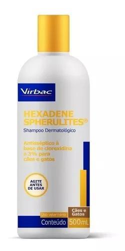 Shampoo dermatológico hexadene spherulites virbac 500ml