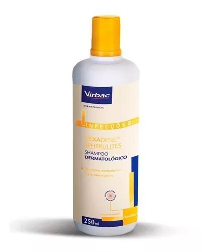 Shampoo hexadene p/ cães e gatos 250ml - virbac