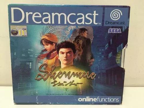 Shenmue sega dreamcast dc europeu original completo lindo