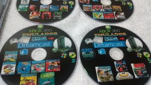 Super coleção dreamcast para-xbox360-pc 11dvds