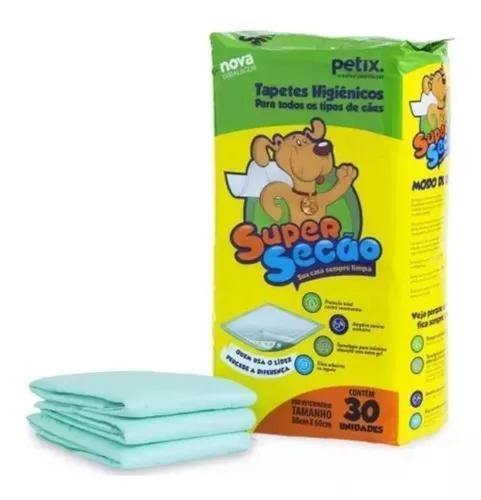 Tapete higienico super secao 30 unidades 80x60
