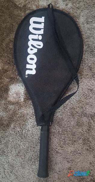 Vendo/troco raquete de tênis wilson, modelo energy xl, com capa