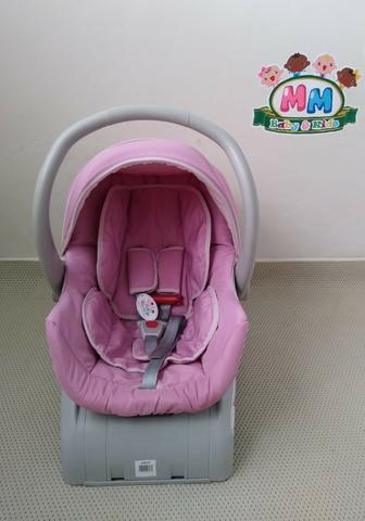 Bebê conforto galzerano com base, bem conservado