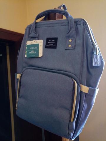 Bolsa mochila maternidade land - promoção