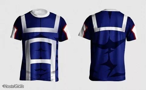 Camisa uniforme escolar boku no hero acad