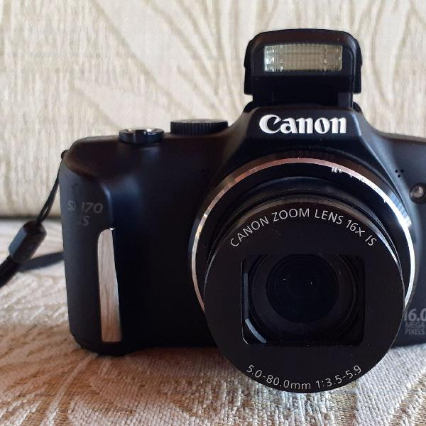 Câmera canon sx170 is - usada