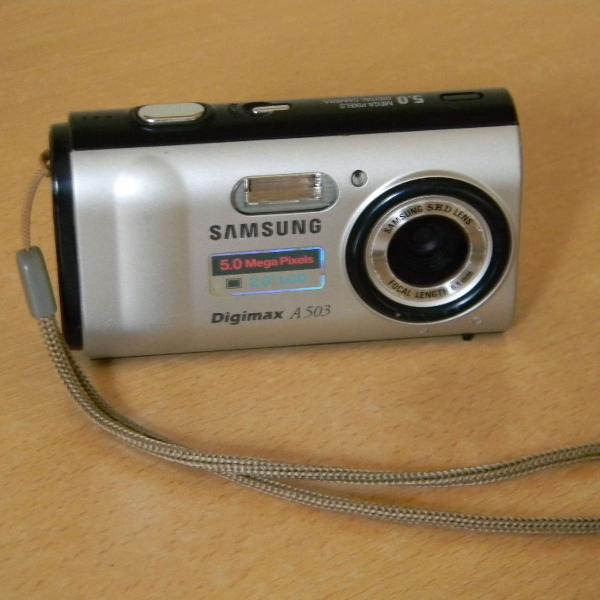 Câmera digital samsung a503