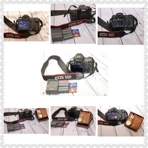 Câmera fotografica profissional eos canon 50d