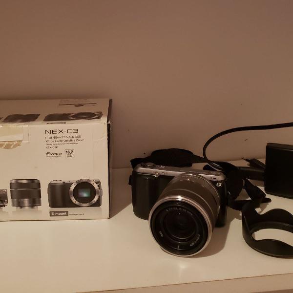 Câmera semi profissional sony nex c3