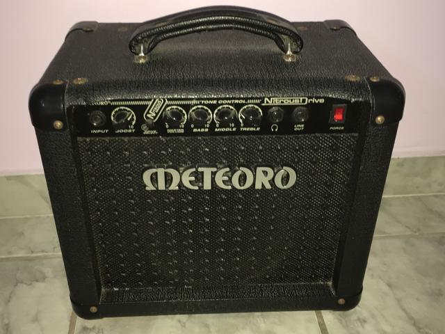 Cubo amplificador Meteoro Nitrous Drive