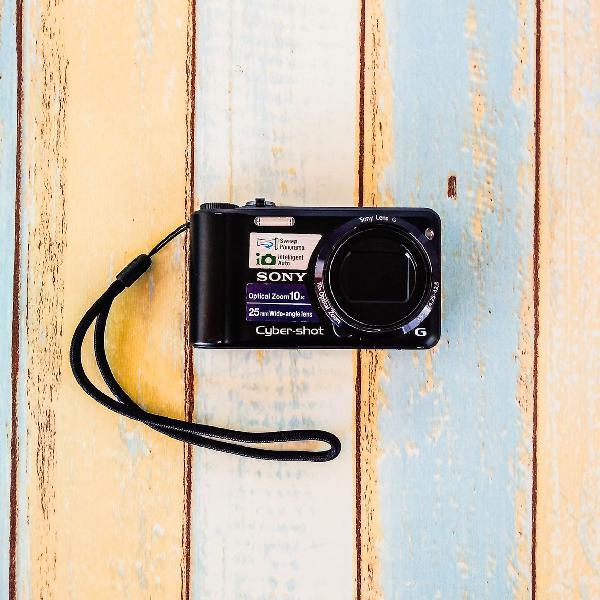 Fotografar pra que ama! máquina digital sony