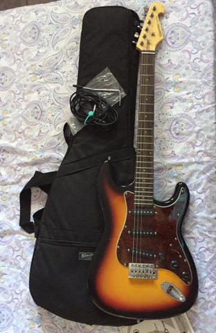 Guitarra giannini sonic series