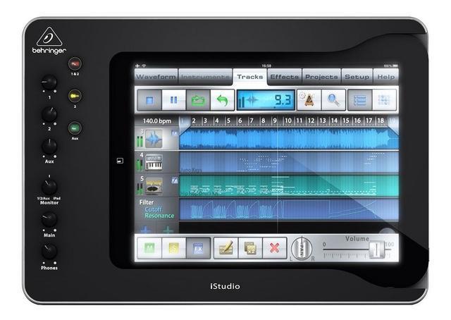 Interface de áudio istudio