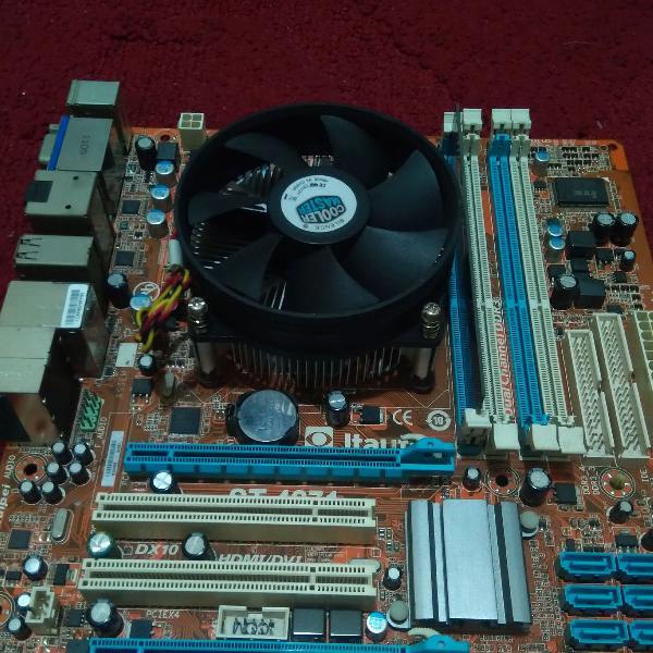 Kit placa mae itutec processador i3 e memoria 2gb ddr3