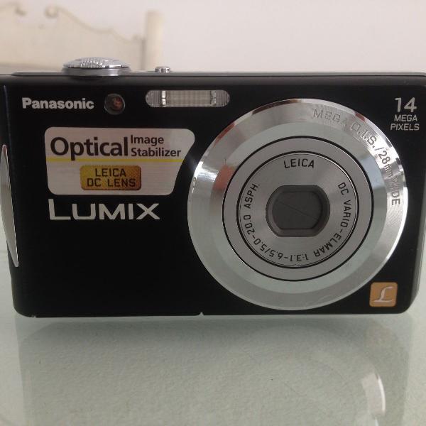 Maquina fotográfica e filmadora digital lumix