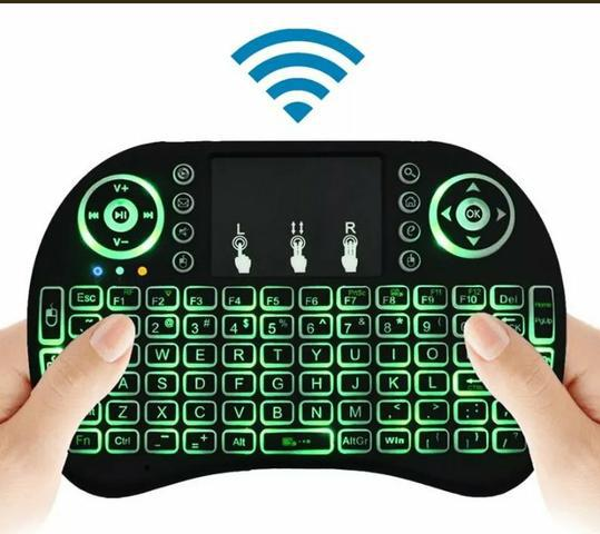 Mini teclado wireless para smart tv e outros produto novo