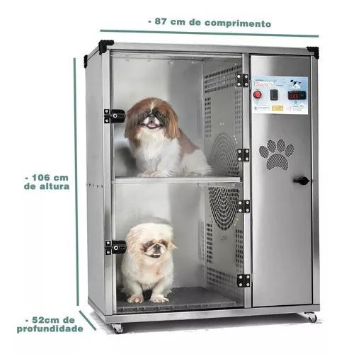 Máquina de secar cachorros secadora saara turbo 2 lugares
